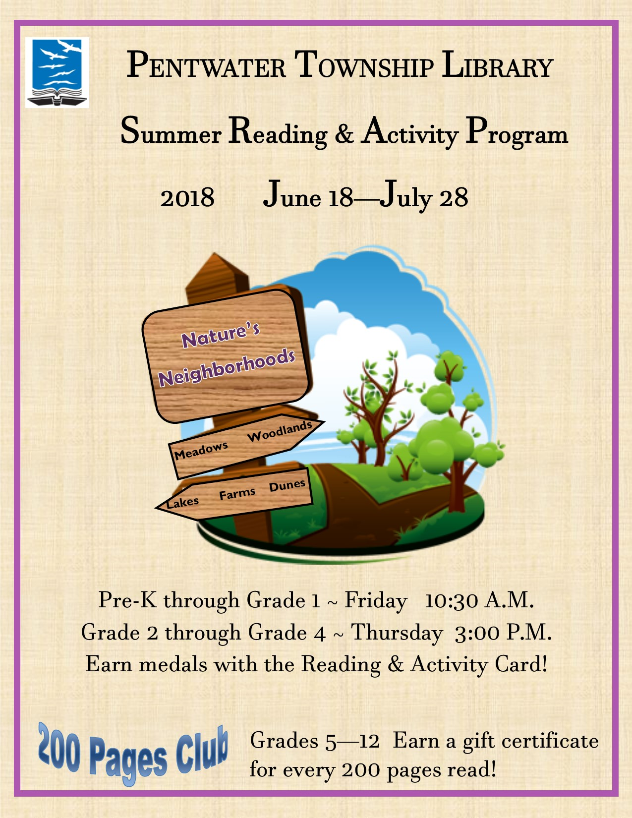 Summer Reading main poster CHAMBER